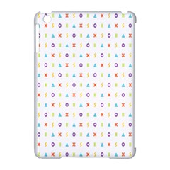 Sign Pattern Apple Ipad Mini Hardshell Case (compatible With Smart Cover)