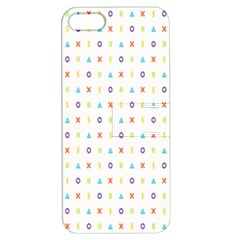 Sign Pattern Apple iPhone 5 Hardshell Case with Stand