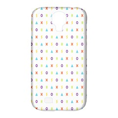 Sign Pattern Samsung Galaxy S4 Classic Hardshell Case (pc+silicone)