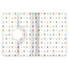 Sign Pattern Kindle Fire HDX Flip 360 Case