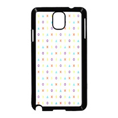 Sign Pattern Samsung Galaxy Note 3 Neo Hardshell Case (Black)