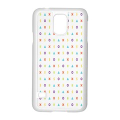 Sign Pattern Samsung Galaxy S5 Case (White)