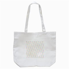 Sign Pattern Tote Bag (White)