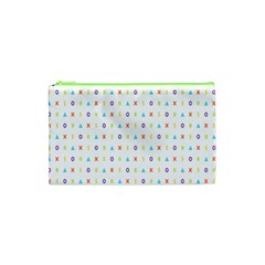 Sign Pattern Cosmetic Bag (XS)