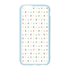 Sign Pattern Apple Seamless iPhone 6/6S Case (Color)