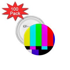 Color Bars & Tones 1 75  Buttons (100 Pack)
