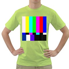 Color Bars & Tones Green T-Shirt