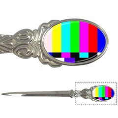 Color Bars & Tones Letter Openers