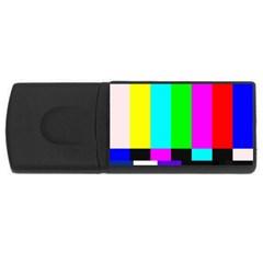Color Bars & Tones USB Flash Drive Rectangular (4 GB)