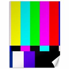 Color Bars & Tones Canvas 36  X 48