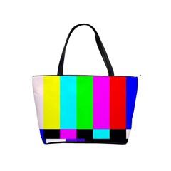 Color Bars & Tones Shoulder Handbags