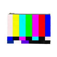 Color Bars & Tones Cosmetic Bag (Large)