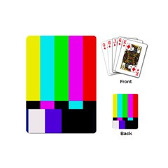 Color Bars & Tones Playing Cards (mini)
