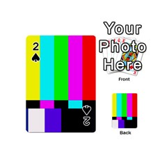 Color Bars & Tones Playing Cards 54 (mini)