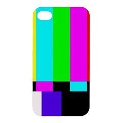 Color Bars & Tones Apple iPhone 4/4S Hardshell Case