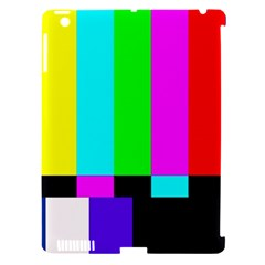 Color Bars & Tones Apple iPad 3/4 Hardshell Case (Compatible with Smart Cover)
