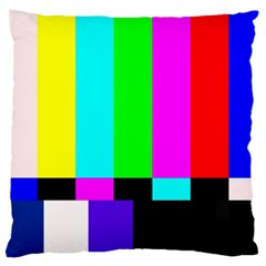 Color Bars & Tones Large Cushion Case (two Sides)