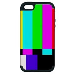 Color Bars & Tones Apple iPhone 5 Hardshell Case (PC+Silicone)