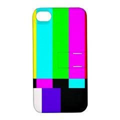 Color Bars & Tones Apple iPhone 4/4S Hardshell Case with Stand