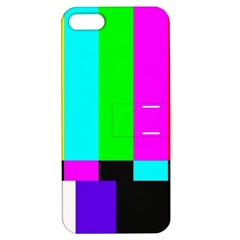Color Bars & Tones Apple iPhone 5 Hardshell Case with Stand