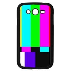Color Bars & Tones Samsung Galaxy Grand DUOS I9082 Case (Black)