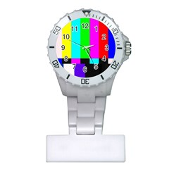 Color Bars & Tones Plastic Nurses Watch
