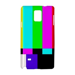 Color Bars & Tones Samsung Galaxy Note 4 Hardshell Case