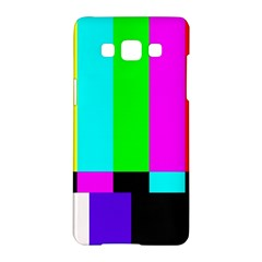 Color Bars & Tones Samsung Galaxy A5 Hardshell Case