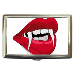 Mouth Jaw Teeth Vampire Blood Cigarette Money Cases