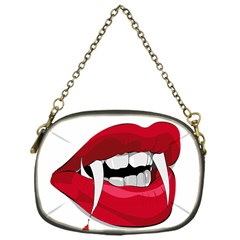Mouth Jaw Teeth Vampire Blood Chain Purses (One Side)