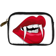 Mouth Jaw Teeth Vampire Blood Digital Camera Cases