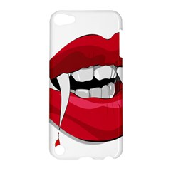 Mouth Jaw Teeth Vampire Blood Apple iPod Touch 5 Hardshell Case