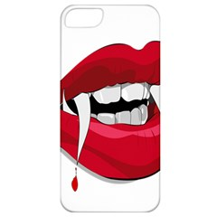 Mouth Jaw Teeth Vampire Blood Apple iPhone 5 Classic Hardshell Case
