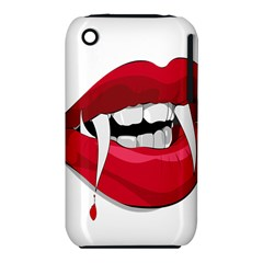 Mouth Jaw Teeth Vampire Blood iPhone 3S/3GS