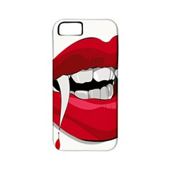 Mouth Jaw Teeth Vampire Blood Apple iPhone 5 Classic Hardshell Case (PC+Silicone)