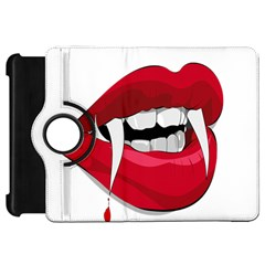 Mouth Jaw Teeth Vampire Blood Kindle Fire Hd 7
