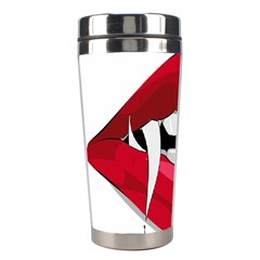 Mouth Jaw Teeth Vampire Blood Stainless Steel Travel Tumblers
