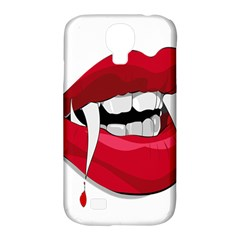 Mouth Jaw Teeth Vampire Blood Samsung Galaxy S4 Classic Hardshell Case (PC+Silicone)