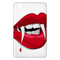 Mouth Jaw Teeth Vampire Blood Samsung Galaxy Tab Pro 8.4 Hardshell Case