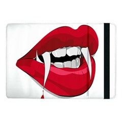 Mouth Jaw Teeth Vampire Blood Samsung Galaxy Tab Pro 10.1  Flip Case
