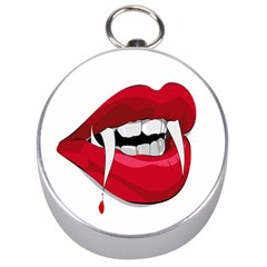 Mouth Jaw Teeth Vampire Blood Silver Compasses