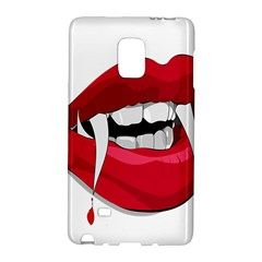 Mouth Jaw Teeth Vampire Blood Galaxy Note Edge