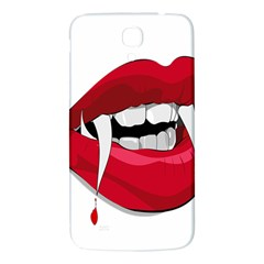 Mouth Jaw Teeth Vampire Blood Samsung Galaxy Mega I9200 Hardshell Back Case