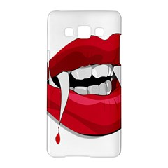 Mouth Jaw Teeth Vampire Blood Samsung Galaxy A5 Hardshell Case