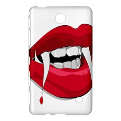 Mouth Jaw Teeth Vampire Blood Samsung Galaxy Tab 4 (8 ) Hardshell Case