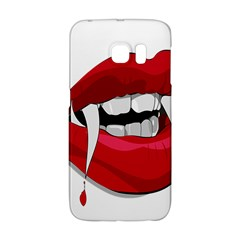 Mouth Jaw Teeth Vampire Blood Galaxy S6 Edge