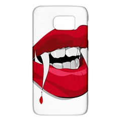 Mouth Jaw Teeth Vampire Blood Galaxy S6