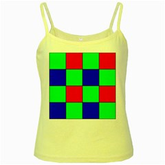 Bayer Pattern Yellow Spaghetti Tank