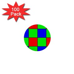 Bayer Pattern 1  Mini Buttons (100 pack)
