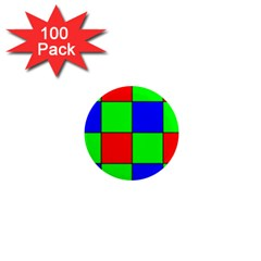 Bayer Pattern 1  Mini Magnets (100 Pack)
